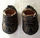 Blackhawk Brown Baby Boy Baseball Tennis Shoes Size 2