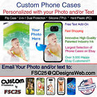 Custom Phone Case Cover Personalized Photo Selfie image logo for iPhone 7