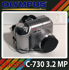 Olympus CAMEDIA C-730 3.2 MP Ultra Zoom Digital Camera with Accessories PHOTO