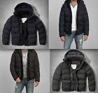 Clearance NWT Abercrombie  Fitch Mens Classic Puffer Jacket Outerwear 220