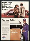 1982 Vintage Print Ad AMOCO Gas Oil Service Station Attendant Image Photo