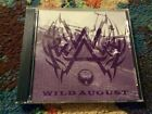 Wild August 3 Song EP CD Glam Hair Metal ULTRA RARE 1994 Excellent Condition