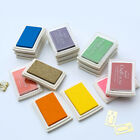 Pigment Ink Pad For Accounting Seal Stamps Paper Wood Rubber Craft 15Colors 15g