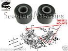 2x GY6 ENGINE MOUNTING BUSHES for KYMCO Vivio 125 150 Super 8 Agility DJ Filly