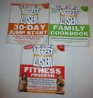 3 Lot The Biggest Loser Family Cookbook30 Day Jump StartFitness Program New