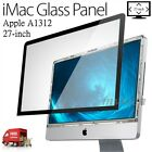 27 inch 27 Glass Front Screen Panel for Apple iMac 922 9833 922 9147 A1312