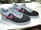 Mens Nike Air Air Force XXV Leather Sneakers Sz8M Black  Gray Very Good