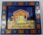 Kurt Adler Wooden Nativity Advent Calendar with 23 Magnetic Piece flawGOOD CONDI