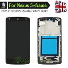 For LG Nexus 5 Touch Screen Digitizer LCD Assembly With Frame Replacement