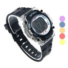 Colorful LED Electronic Sports Watch Waterproof Quartz Stainless Steel Cheap
