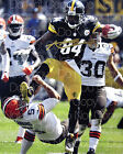Antonio Brown Pittsburgh Steelers 8X10 photo picture poster autograph RP 2