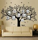 LSKOO Family Photo Frame Tree Wall Decals Family Tree Decal Living Room Home