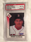 1993 ROGER CLEMENS KENNER STARTING LINEUP PORTRAIT CARD GRADED PSA 8 MINT POP 1