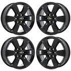 20 CHEVROLET TRAVERSE BLACK WHEELS RIMS FACTORY OEM 2016 2017 SET 5769