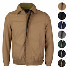 Mens Microfiber Golf Sport Water Resistant Zip Up Windbreaker Jacket BENNY