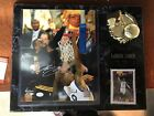 LeBron James SIGNED autographed Photo on plaque with card. COA
