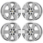18 CHEVROLET TRAVERSE PVD CHROME WHEELS RIMS FACTORY OEM SET 5408 EXCHANGE