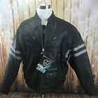 Leather Jacket Mens Sizes XL XXL Arlen Ness Urbana Black New with Tags