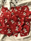 Lot of Over 60 Valentine Dog Iron On Appliques Patches Red Heat and Bond