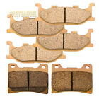Front Rear Sintered Brake Pads For 2004 2005 2006 YAMAHA 1100 AS V-Star Classic