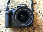 Canon EOS Digital Rebel XS EOS 1000D 101MP DSLR with 18 55mm lens and bag