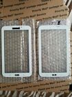 X2 Samsung Galaxy Tab 3 SM-T217S Touch Screen Digitizer Glass White 1.16.6