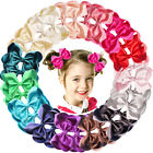 20pc LOT Baby Girls Big 6 Inch Hair Bows Alligator Hair Clips Baby Girl Gift Set