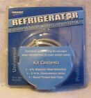 NEW Smart Choice Refrigerator Stainless Steel Waterline Install Kit 6 feet