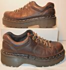 Dr DOC Martens 8312 Laceup Oxfords Brown Leather Womens Size 6 MADE IN ENGLAND
