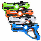 Set of 4 Infrared Laser Tag Guns Indoor Outdoor 4 Players Team Group Activity