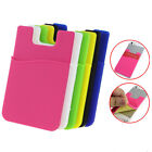 Fashion Adhesive Sticker Back Cover Card Holder Case Pouch For Cell Phone 4E