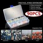 90PCS Industrial Electronics Solder Soldering Assortment Set with Containe cv