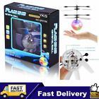 Infrared Induction Flying Flash Disco Colorful LED Ball Helicopter Kids Toy EG