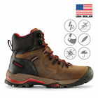 Maelstrom Zion Mens 6 Waterproof Work Boots for Construction Utility Safety