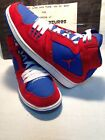 Youth Boys Nike AirJordan 1 Flight Red Blue Athletic Basketball Shoe SIZE 7Y