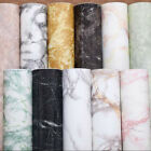 Marble Effect Self Adhesive Wall Decal paper PVC Art Sticker Decoration New