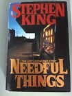 NEEDFUL THINGS by Stephen King 1991 Hardcover 1st Edition 1st Printing
