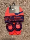 Nike Baby Boy Beanie Hat and Booties Set  Size 0-6 Months  NEW