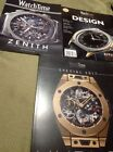 Three Watchtime Special Edition Magazines Hublot, Zenith And Citizen All 2017