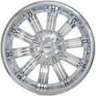 4 GWG Wheels 20 inch Chrome Inserts NARSIS Rims fits SUBARU B9 TRIBECA 2006 2007