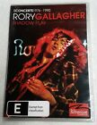 RORY GALLAGHER Shadow Play - Live Rockpalast 1976-90 DVD 3-DISC R4 PAL oz seller