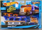 2016 HOT WHEELS HIGHWAY HAULER ROAD RALLY VEHICLE CAR INCLUDED ! BDW58