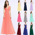 Ever-Pretty US Long Chiffon Bridesmaid Dresses Formal Evening Prom Gown 09016