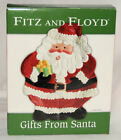 Fitz and Floyd Gift From Santa Canape Plate. Brand New from Macys 2005