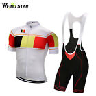 Belgium Shirt Sport Cycling Jersey mtb jersey set Bicycle cycling clothing