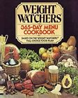 WEIGHT WATCHERS 365 DAY MENU COOKBOOK By Jean Nidetch Hardcover Excellent