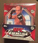 2012 Topps Finest UFC Sealed WWE Hobby Box ROWDY Ronda Rousey Rookie rockhold