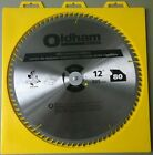 Oldham 12080TP All Purpose 12-Inch 80 Tooth ATB Trim and Finishing Saw Blade wit