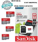 Mini SD Card 16 32 64 128 GB Class 10 Adapter SanDisk Fast Micro Ultra Memory
