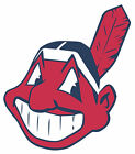 Cleveland Indians Mascot Chief Wahoo Vinyl Decal Sticker 5 Sizes